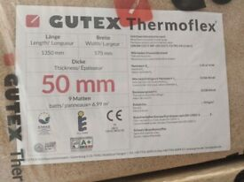 Gutex Thermoflex 50mm - 14sqm Wood Fibre Insulation - Sustainable