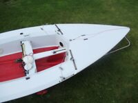TASAR Sailing dinghy 2 person