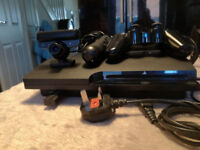 ps3 slim and 27 games
