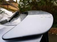 Vectra C sri 100th edition rear spoiler genuine Irmscher