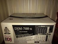 Pioneer DJM 700 K dj mixer