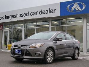 2013 Ford Focus TITANIUM | NAVIGATION | HEATED LEATHER SEATS| AC