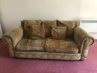 Retro 2 seater sofa for sale