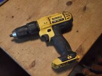 Dewalt DCD776 combi drill driver, body only no battery/charger