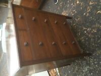 Late Victorian/Edwardian Mahogany Chest of Drawers