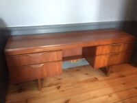 Teak mid-century dressing table