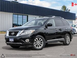 2014 Nissan Pathfinder SL 7 Passenger vehicle.
