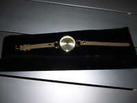 Ladies Watch with leather straps and 2yr warranty
