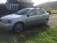 Vauxhall Astra 2004 1.6 SXI with MoT until March 2017
