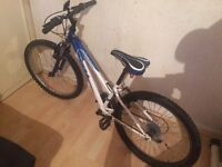 Child mountain bike it can be delver it unisex