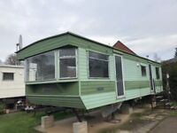 30 x10 static caravan off site to take away