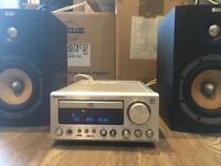 URGENT SALE NEEDED! £210 ONO - Bowers & Wilkins DM600 Speakers & Onkyo CR505DAB Stereo System