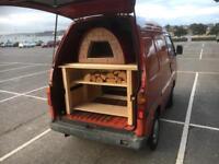 Piaggio Porter Pizza Van (coffee, street food)