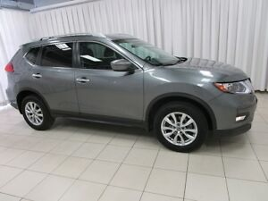 2017 Nissan Rogue FEAST YOUR EYES ON THIS BEAUTY!! SV AWD SUV w/