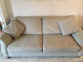 Two NEXT sofas - two seater and three seater