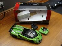 FAST-LANE-Remote-Control-Toy-Car-Green-Lamborghini-Veneno-SCALE-1-12