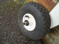 Caravan Pneumatic Jockey Wheel