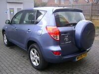 Toyota RAV4 2.2 D-4D XT4 5dr **1 YEAR WARRANTY**FULL SERVICE HISTORY**LEATHER INTERIOR**