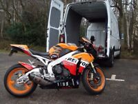 MOTORCYCLE COLLECTION,DELIVERY,TRANSPORTATION.