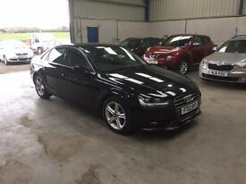 2012 Audi A4 technic 2.0 tdi leather sat nav Bluetooth 1 owner guaranteed cheapest in country