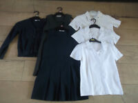 School clothes, most 7-8 y ols, most M&S, used but in a good conditions.