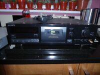 sony tape deck