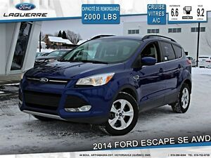 2014 Ford Escape **SE*AUTOMATIQUE*AWD *CAMERA*CRUISE*A/C**