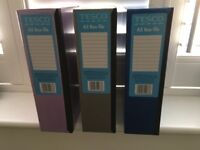 3 x A5 Box files