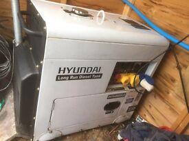 Hyundai DHY6000SELR 30L Diesel Tank 6.0 kva long run Generator