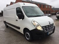 Renault master van 2010 60 2.3 dci diesel 6 speed lwb 1 company owned well maintained no vat
