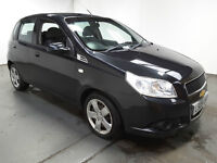 2009(09)CHEVROLET AVEO 1.2 LS BLACK,VERY LOW MILES,2 OWNERS,CLEAN CAR,GREAT VALUE