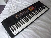 beautiful quality yamaha PSR F51 fullsize digital keyboard,hundreds of voices,styles etc... etc...