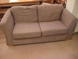 Sofabed - double, metal frame