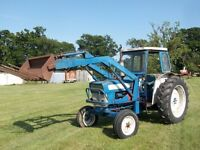 Ford 4000 tractor with detachable loader