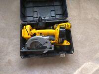 Dewalt tools set, Ashford,Kent