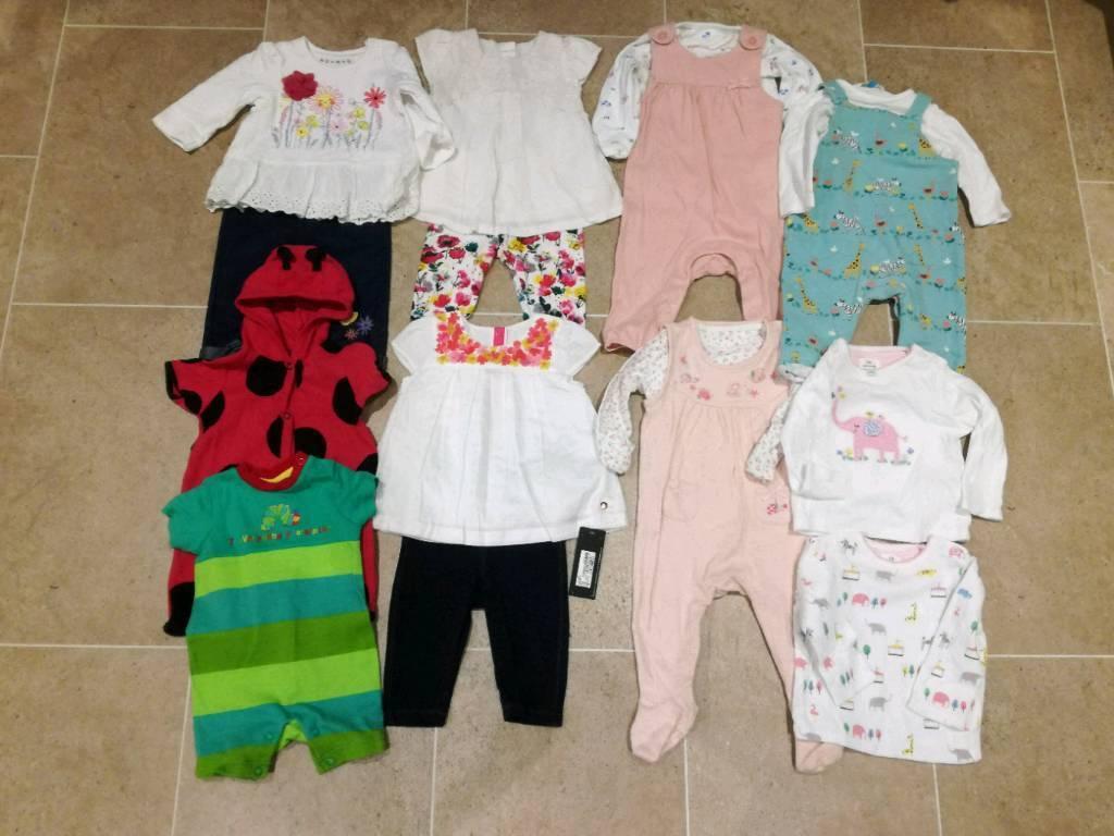 838c340f3783 Baby girls clothing bundle