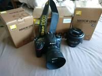 Nikon D600 with Nikon 24-85mm and Nikon 50mm