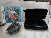 Ds console with charger and games