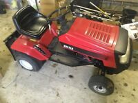 MTD RH115 Ride on Mower tractor