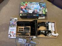 Nintendo Wii U 32gb black console bundle