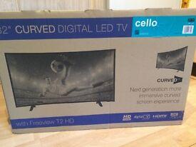 """32"""" Curved Digital LED TV"""