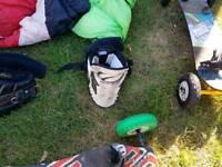 Power kite harness ozone