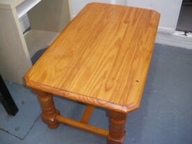 PINE COFFEE TABLE - NEW LOWER PRICE