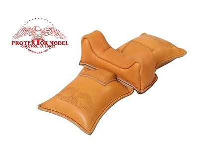 PROTEKTOR MODEL NEW #6F STRADDLE BAG RIFLE GUN REST BENCH SHOOTING MADE IN USA! for sale  Shipping to South Africa