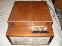 Rare vintage Philco Hi Fidelity Triple Speaker turntable recordplayer