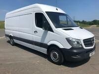 MERCEDES-BENZ SPRINTER 2.1 313 CDI LWB 1d 129 BHP 31 DEC 2015 REGISTERED FULL HISTORY (white) 2015