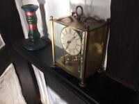 Antique Brass clock.