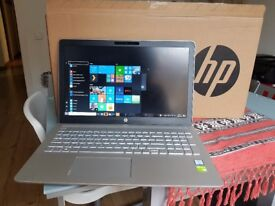 HP Pavillion cc101na i7 with graphics card. Practically New unwanted prize with extended warranty.
