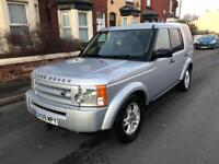 2009 09reg LandRover Discovery 3 Silver GS 7 Seater Good Runner