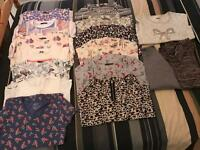 T-shirts and vest tops